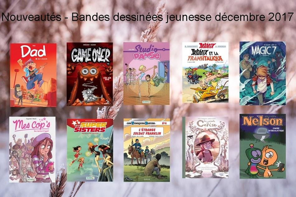 Nouveautés - Bandes dessinées jeunesse décembre 2017