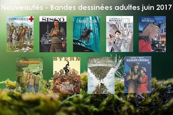 Bandes dessinées adultes 2017 06