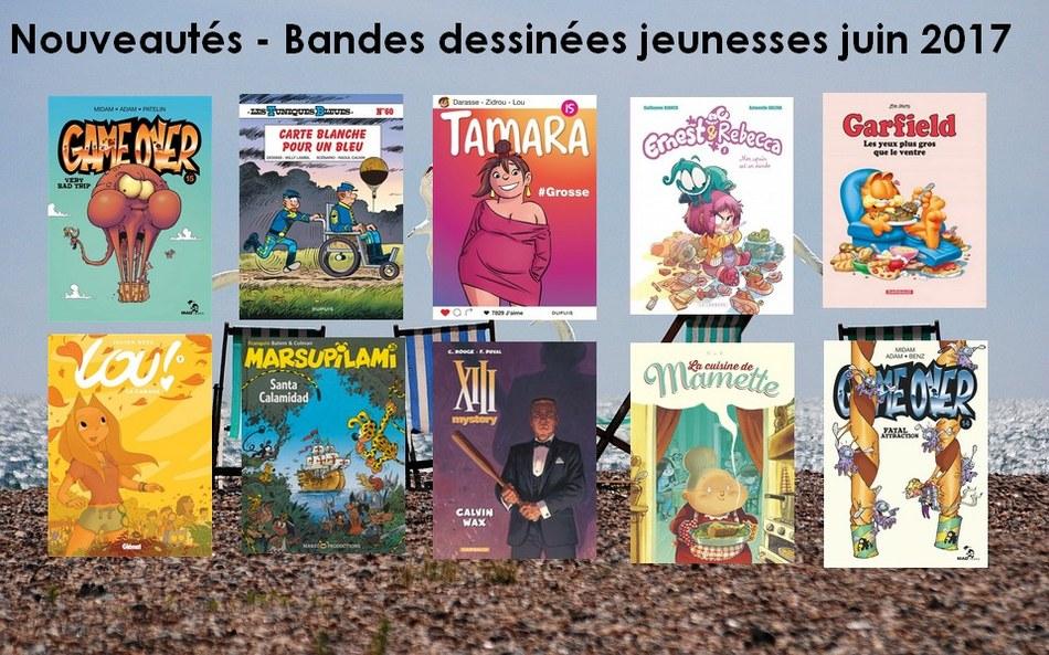 Bandes dessinées jeunesses 2017 06