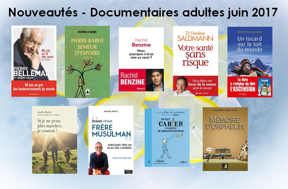 Documentaires adultes 2017 06