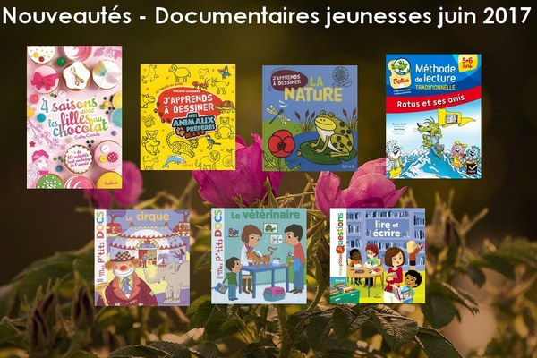 Documentaires jeunesses 2017 06
