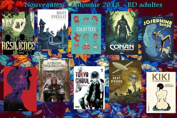 Nouveautés - BD adultes automne 2018