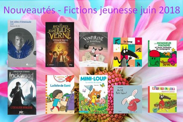 Nouveautés - Fictions jeunesse juin 2018