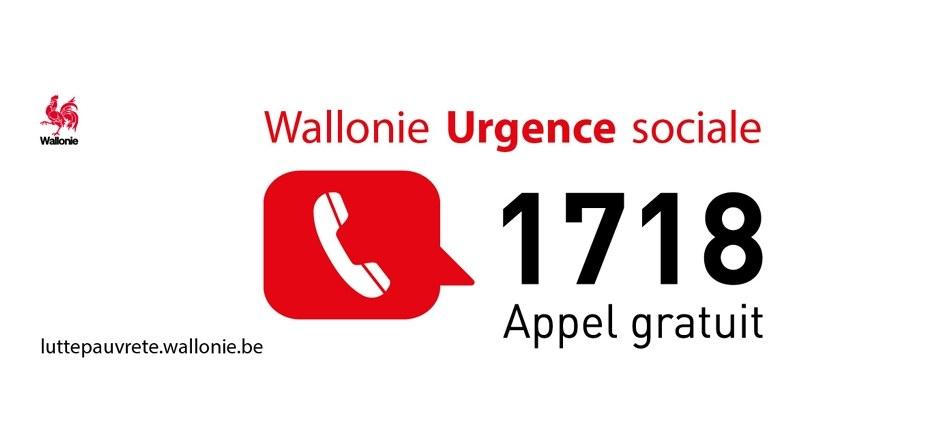 Covid-19 - Mesures prises pour les urgences sociales en Wallonie
