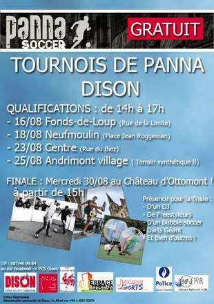PCS   Affiche Panna soccer