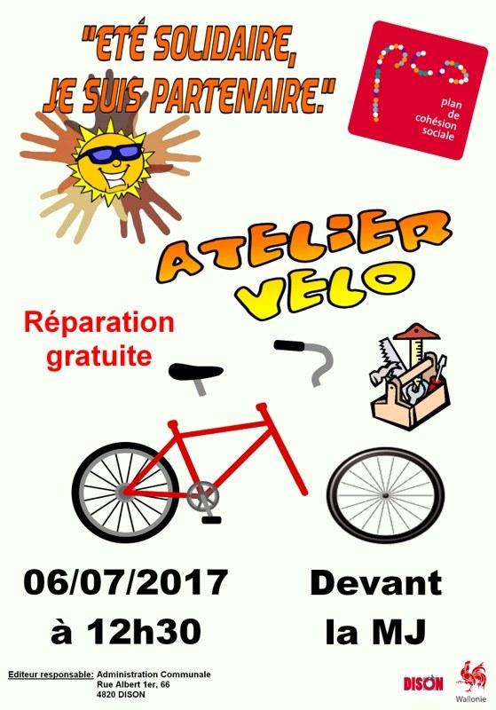 PCS   Atelier vélo Neufmoulin