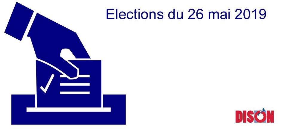 Elections Législatives, fédérales et européennes 2019 - Informations pratiques