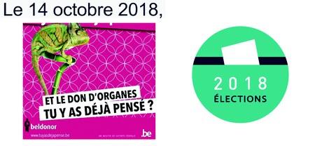 Elections locales 2018 - Je vote pour la vie (don d'organes)