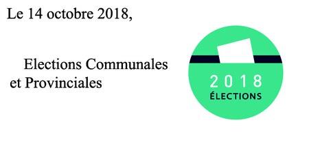 """Elections locales 2018 - Permanences """"élections"""" du service population"""