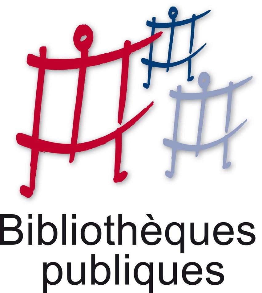 Logo Biblio Vertical ombre