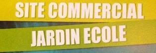 Logo Site commercial jardin ecole