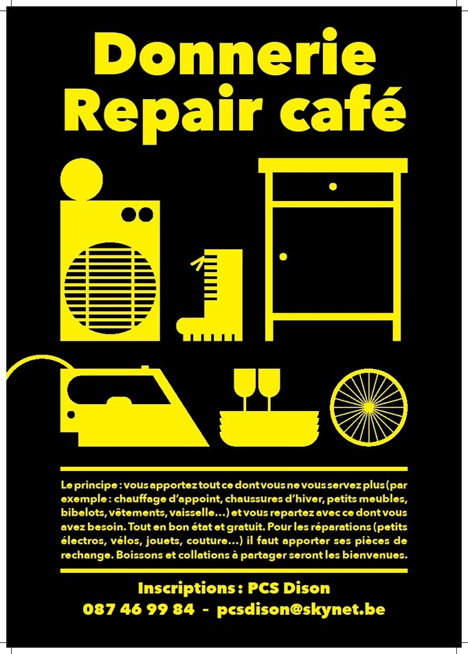affiche donnerie repair